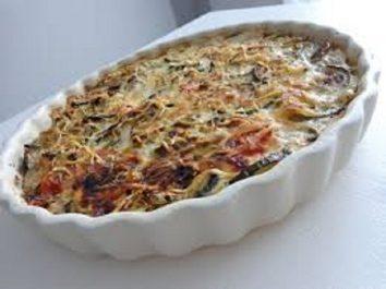 Recette: Gratin de courgettes aux 2 fromages