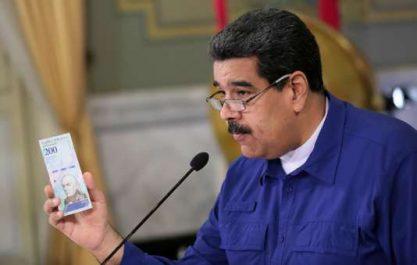 Venezuela: Le parlement estime l'inflation annuelle à plus de 340.000%