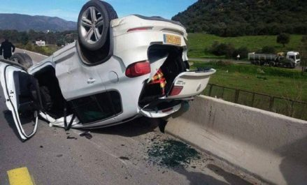 Blida: Un mort et quatorze blessés dans quatre accidents de la circulation