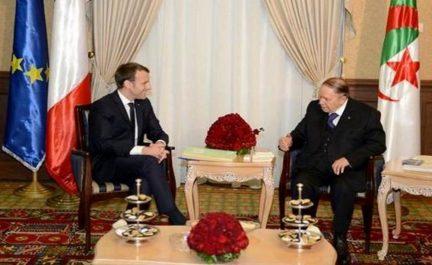Le Président Bouteflika félicite son homologue français pour la fête nationale de son pays