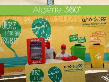 L'Agence Nationale des Déchets et Coca Cola Algérie collaborent pour la sensibilisation au tri sélectif au niveau des plages