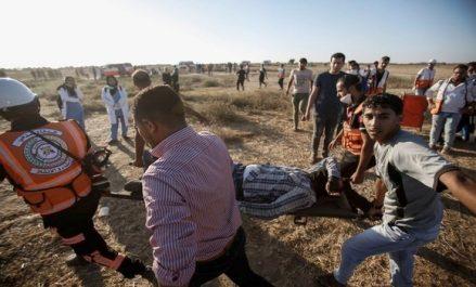 Manifestations pacifiques à Ghaza: deux Palestiniens tués par les forces d'occupation