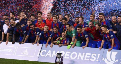 Le FC Barcelone remporte la Super Coupe d'Espagne