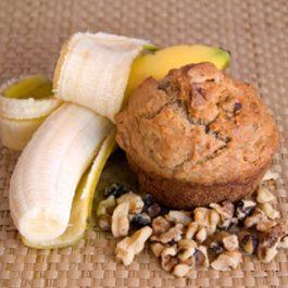 Recette: Muffins aux bananes