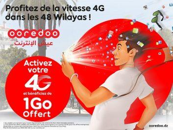 Régularisation des contrats 4G dans les 48 wilayas: Passez à la 4G et bénéficiez de 1 Go d'Internet gratuitement