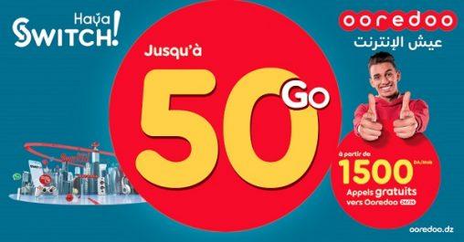 Nouvelle offre post payée de Ooredoo « Haya! Switch » : profitez de 2 mois de validité, changez votre forfait quand vous voulez et bénéficiez d'une 2ème SIM pour partager votre Internet