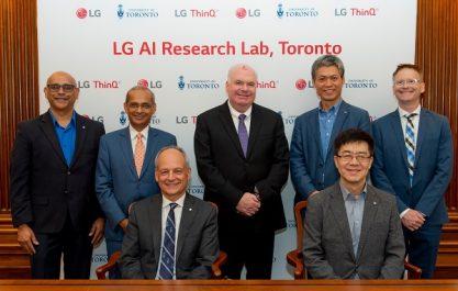 LG s'oriente à définir l'avenir de l'intelligence artificielle dans de nouveaux laboratoires de recherche d'IA en Amérique du nord