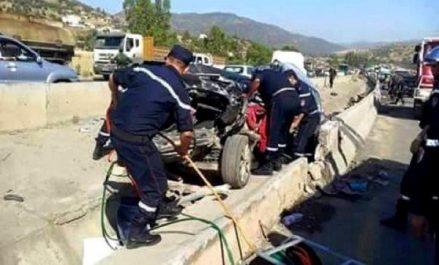 Oum El Bouaghi: Deux morts et trois blessés dans une collision