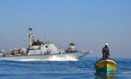 Des bateaux des pêcheurs palestiniens agressés par des vedettes israéliennes au large de Ghaza