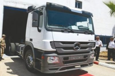 Mercedes-Benz (SAPPL-MB Spa) de Rouiba : Livraison de 356 camions Mercedes multifonctions