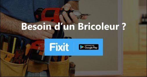 FIXIT, 1ère application mobile algérienne de mise en relation entre particuliers et bricoleurs et/ou artisans