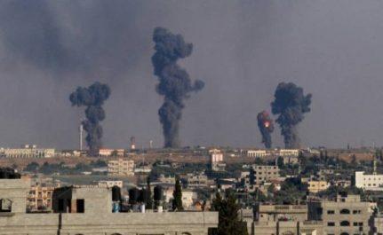 L'armée d'occupation israélienne lance une frappe dans la bande de Ghaza
