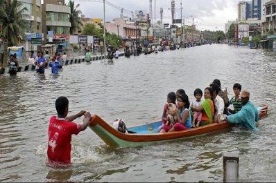 Inde: 164 morts dans les inondations au Kerala