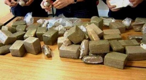 Tlemcen: Plus de 70 kg de kif découverts dans une ferme