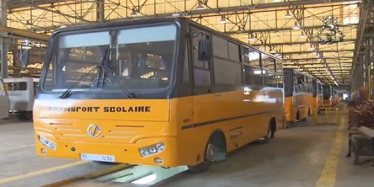 SNVI : fabrication de 2000 bus de transport scolaire
