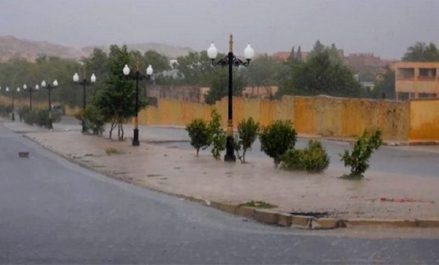 De fortes averses de pluie attendues sur la wilaya de Bechar ce jeudi