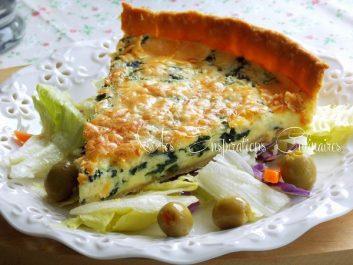 Recette: tarte aux épinards