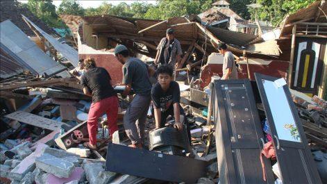 Séisme en Indonésie: le bilan s'alourdit à 105 morts