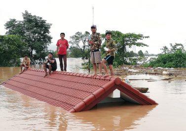 31 morts et 130 disparus dans l'effondrement d'un barrage à Laos