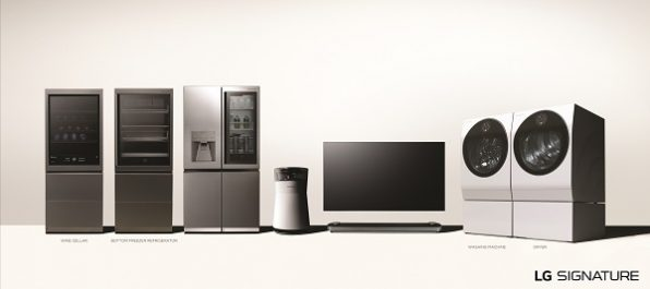 LG élargit la gamme ultra-premium avec de nouveaux produits avec en vedette un cellier