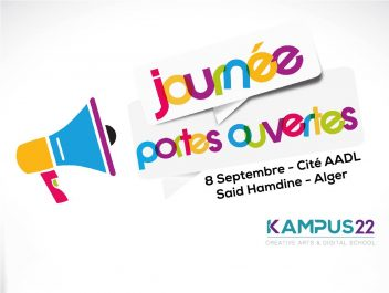 Journées portes ouvertes sur les formations en design graphique et le digital le 8 Septembre.