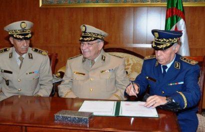 Installation du général-major Abdelhamid Ghriss dans les fonctions de SG du MDN