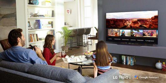 Les téléviseurs intelligents LG thinq® avec IA qui visent à gagner de nouveaux marchés se dotent de l'assistant Google