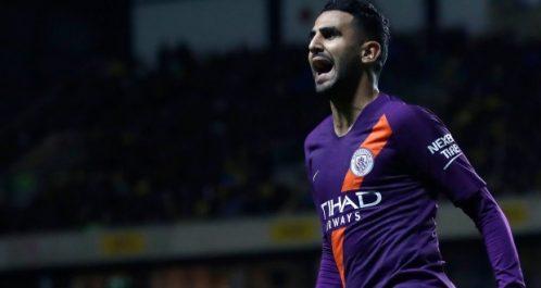 Manchester City: Mahrez signe son troisième but de la saison