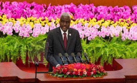 Chine-Afrique: Faki Mahamat plaide en faveur du multilatéralisme