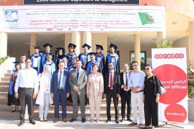 Ooredoo récompense les Majors de Promotion de l'Ecole Nationale Supérieure de Management