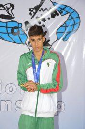 Championnat d'Afrique (3e journée): Ryad Bouhamidi offre à l'Algérie sa 2e médaille d'or