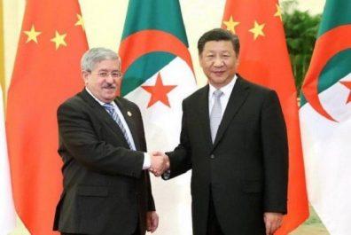 Ouyahia remet un message du Président Bouteflika à son homologue chinois Xi Jinping