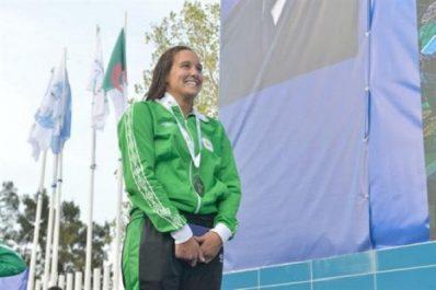 Natation/championnats d'Afrique 2018 (400 m 4 nages): l'Algérienne Nefsi Rania en or