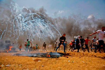 Gaza : au moins 95 Palestiniens blessés lors des heurts avec l'armée d'occupation Israélienne