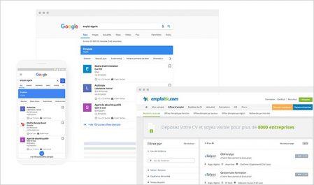 Emploitic, partenaire de Google pour optimiser la recherche d'emploi en Algérie.