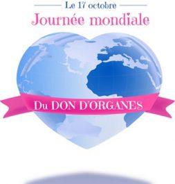 17 octobre : Journée mondiale du don d'organes et de la greffe