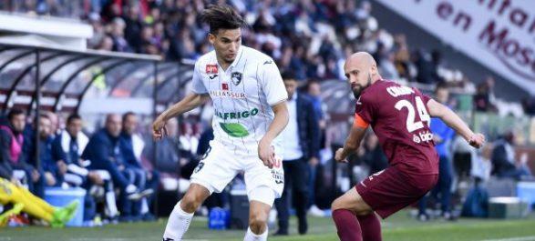 Ferhat buteur face au FC Metz