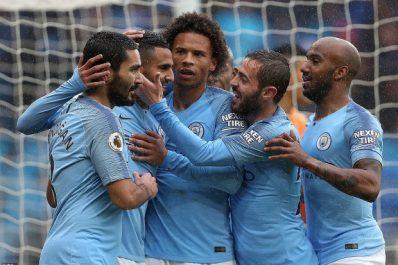 Man City – Guardiola : «Nous sommes tellement satisfaits de Mahrez»