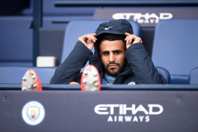 Manchester City: Mahrez a joué 19 minutes contre Brighton