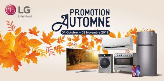 Promotion d'automne chez LG: Faites le plein de produits…et de cadeaux
