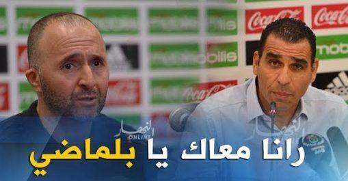 Zetchi : le peuple algérien est derrière Belmadi
