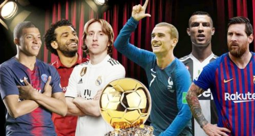Ballon d'Or: La liste des 30 candidats dévoilée