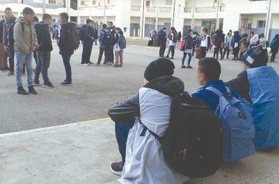 Lycée El Khawarizmi: Trois élèves blessés dans l'effondrement partiel d'une classe