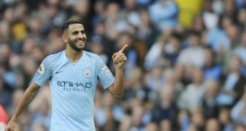 Premier League: Mahrez signe un but d'anthologie contre Burnley