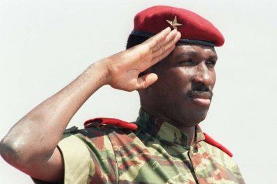 Thomas Sankara, héros de la jeunesse africaine