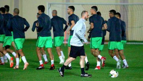 Equipe nationale: Benrahma, Lakhel et Boudaoui, priorités de Belmadi