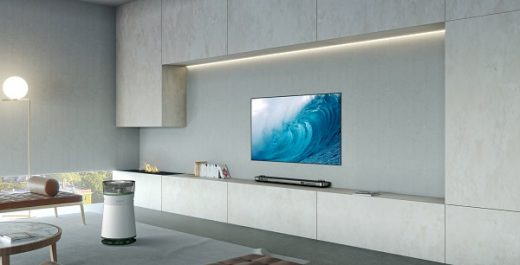 Le purificateur d'air LG SIGNATURE associe une filtration sophistiquée à un design inégalé pour un air pur à l'intérieur de votre maison.