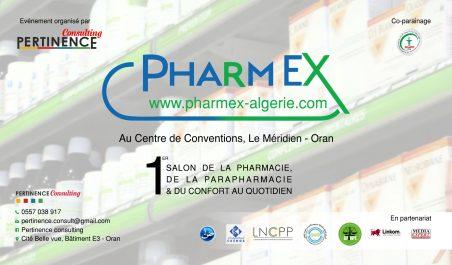Pharmex 2018 : une cinquantaine d'exposants attendus à Oran à partir du 25 octobre