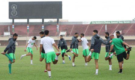 Equipe nationale: La préparation scindée en deux phases