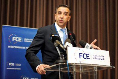 Ali Haddad, PDG du groupe de travaux publics ETRHB Haddad réélu pour un second mandat
